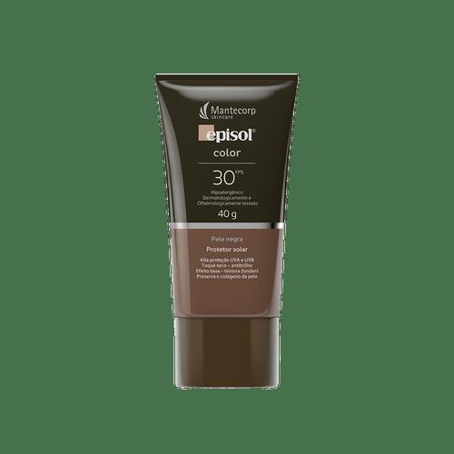 Episol-Color-Pele-Negra-FPS-30-Protetor-Solar-40g