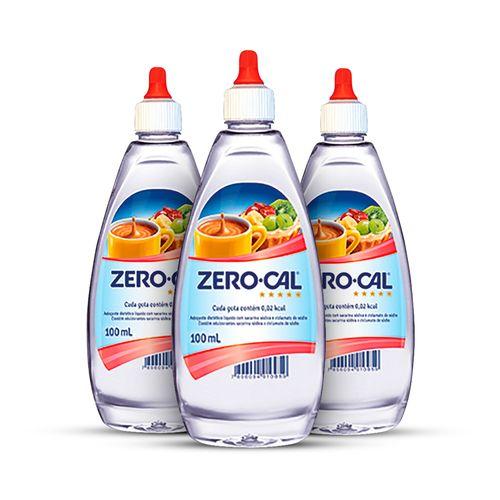 Kit-com-3-Zero-Cal-Sacarina-Liquido-100ml